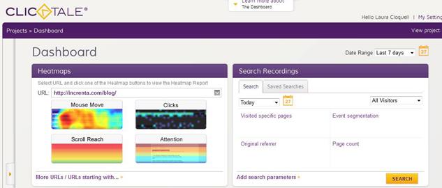 ClickTale: la analítica web del comportamiento del usuario