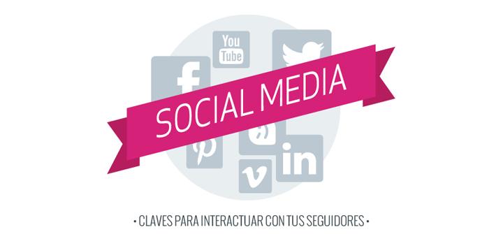 Claves para interactuar con tus seguidores en las redes sociales.