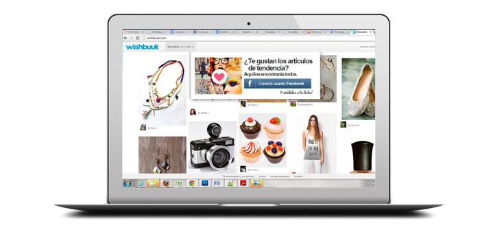 """Wishbuuk, la innovadora plataforma de """"deseos"""" de Facebook, seduce al Financial Times."""