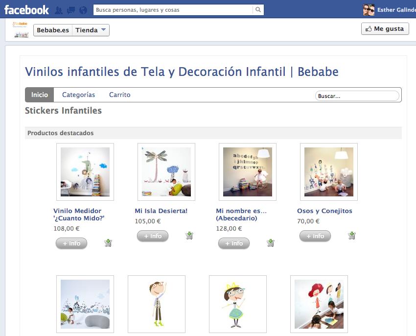 Tiendy para crear tienda online Facebook