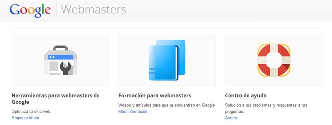 Tutorial Webmasters Tools o Herramientas para webmasters de Google