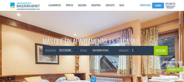 Apartamentos Baqueira, una plataforma inteligente de alquiler