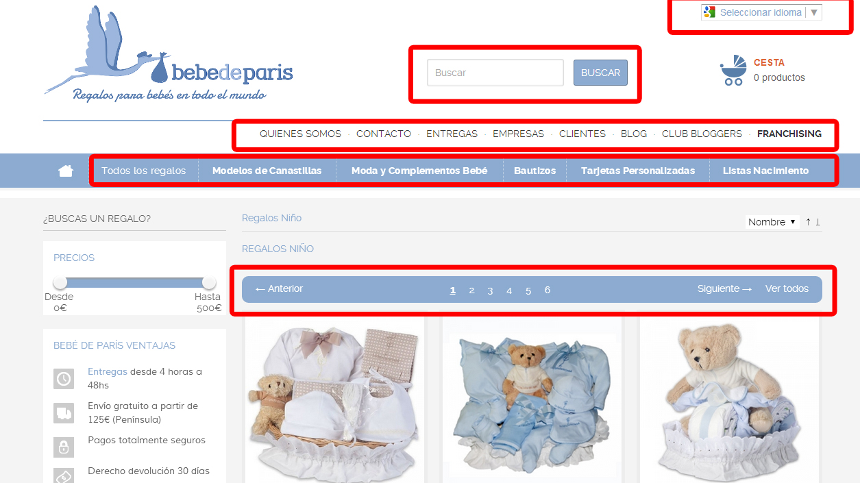 Plataforma para vender online