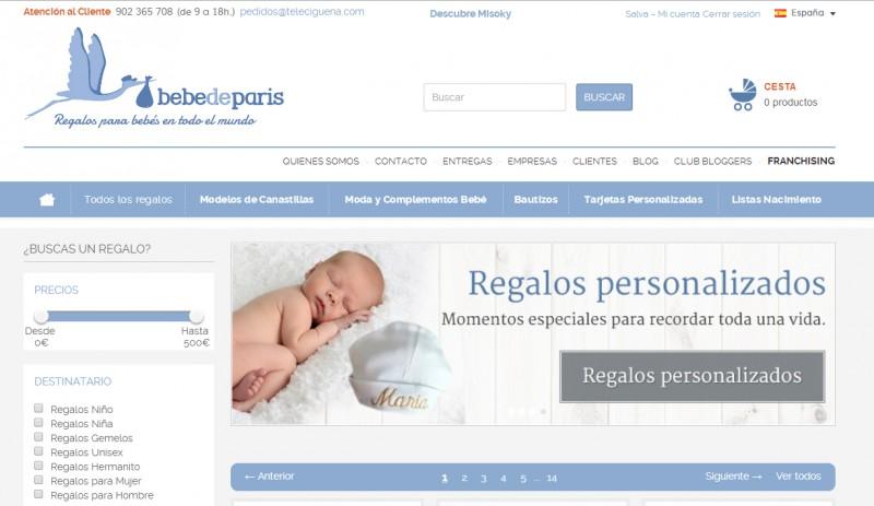 Plataforma para vender online: el éxito de Bebé de París