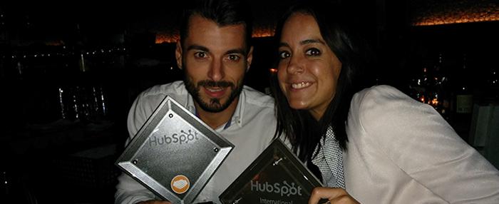 Increnta lidera los premios del congreso Hubspot Inbound 14