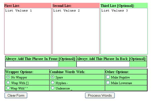 keyword-combiner