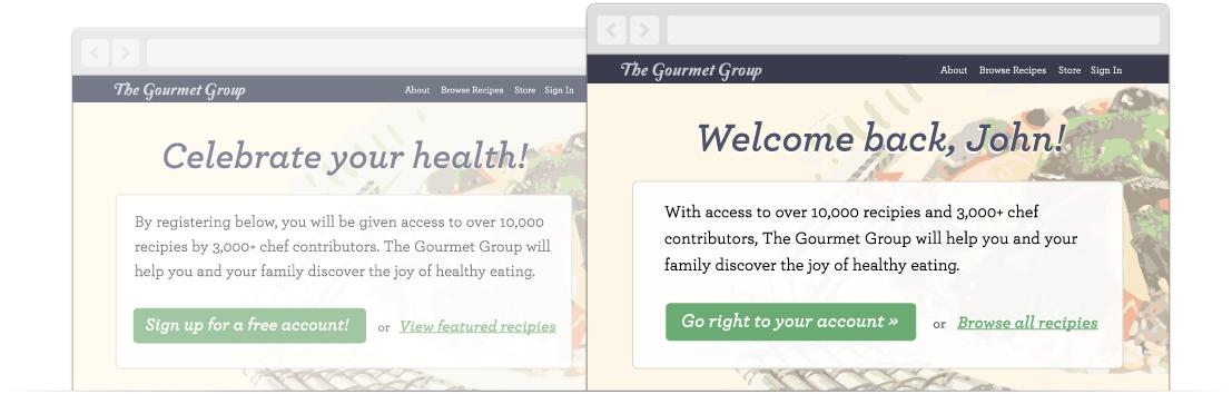 Cómo personalizar el contenido de tu web