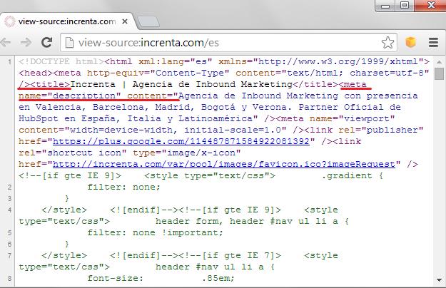 Como chequear el SEO  de tu web