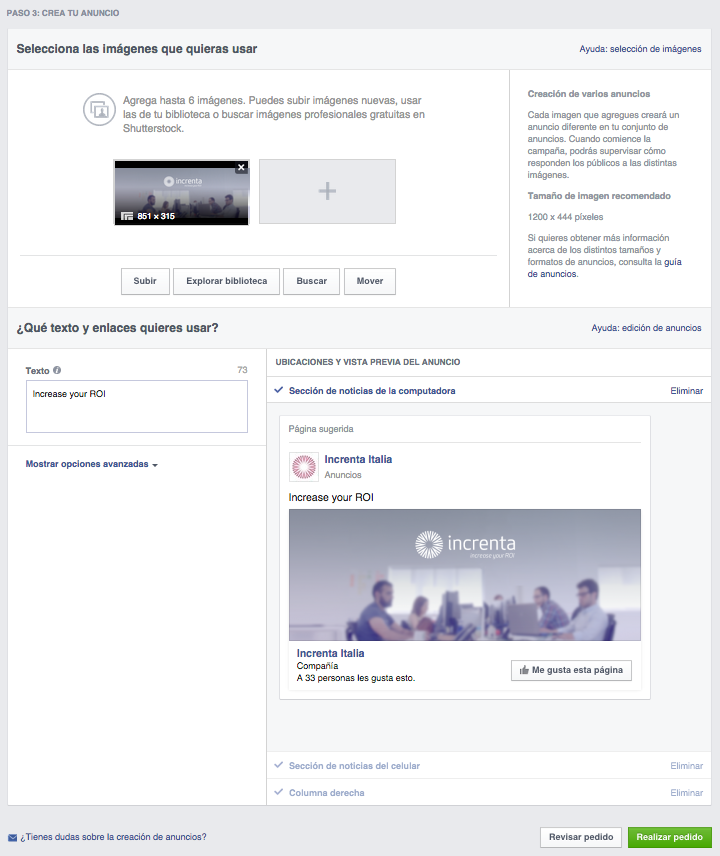 Guía Facebook Ads para directores de marketing