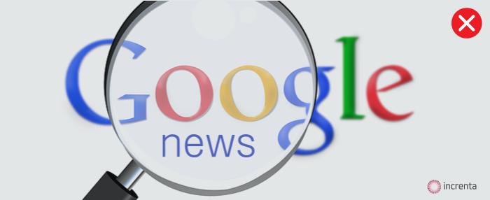 La tasa Google: Google News Spain echa el cierre definitivo