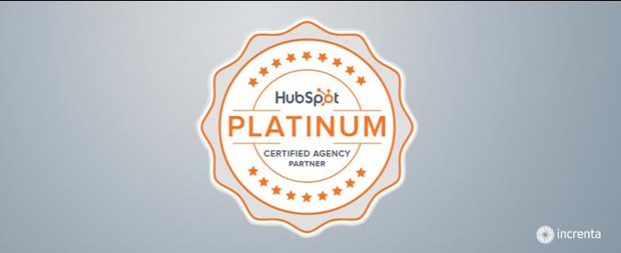 Increnta se convierte en Platinum Partner de HubSpot