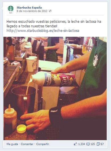 Customer engagement Starbucks