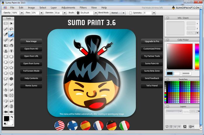 sumo paint