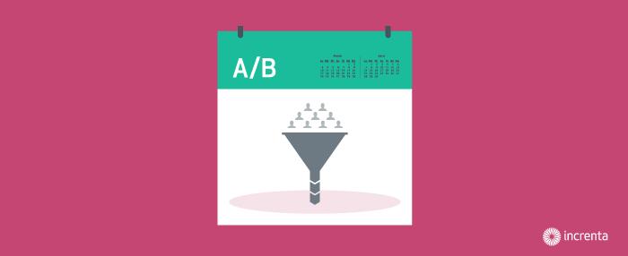 Aumenta tu tasa de conversión con un calendario de pruebas A/B