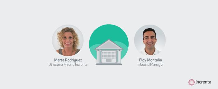 Reserva tu plaza para el webinar gratis sobre Inbound en el sector banca/seguros