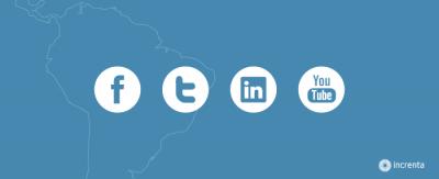 Las 5 redes sociales más utilizadas en Latinoamérica