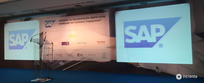 """Increnta en las Jornadas """"La transformación digital como catalizador del Customer Engagement"""""""