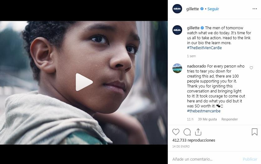 Campaña Gillette